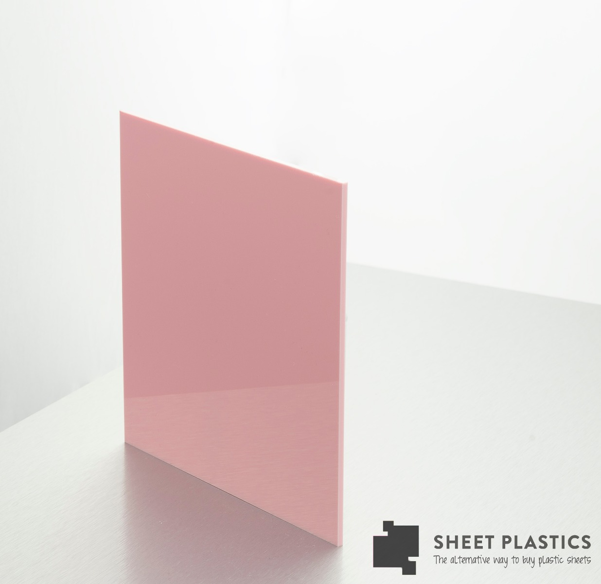 3mm Baby Pink Acrylic Sheet Cut To Size