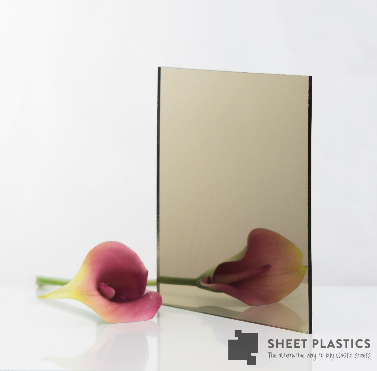 Bronze Acrylic Mirror Sheet MIRBRON