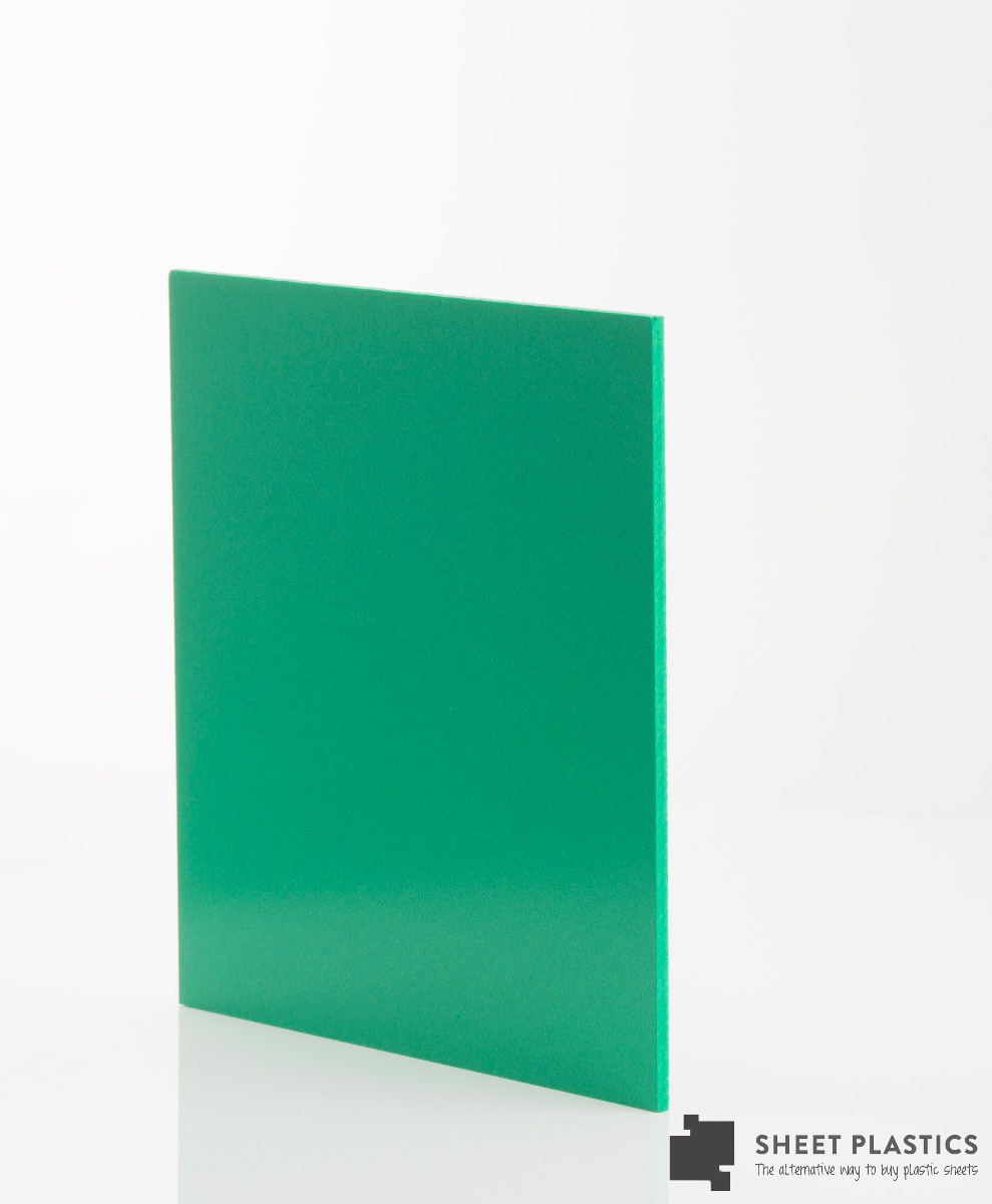Matt Green Foam Pvc Sample 150 X 150mm