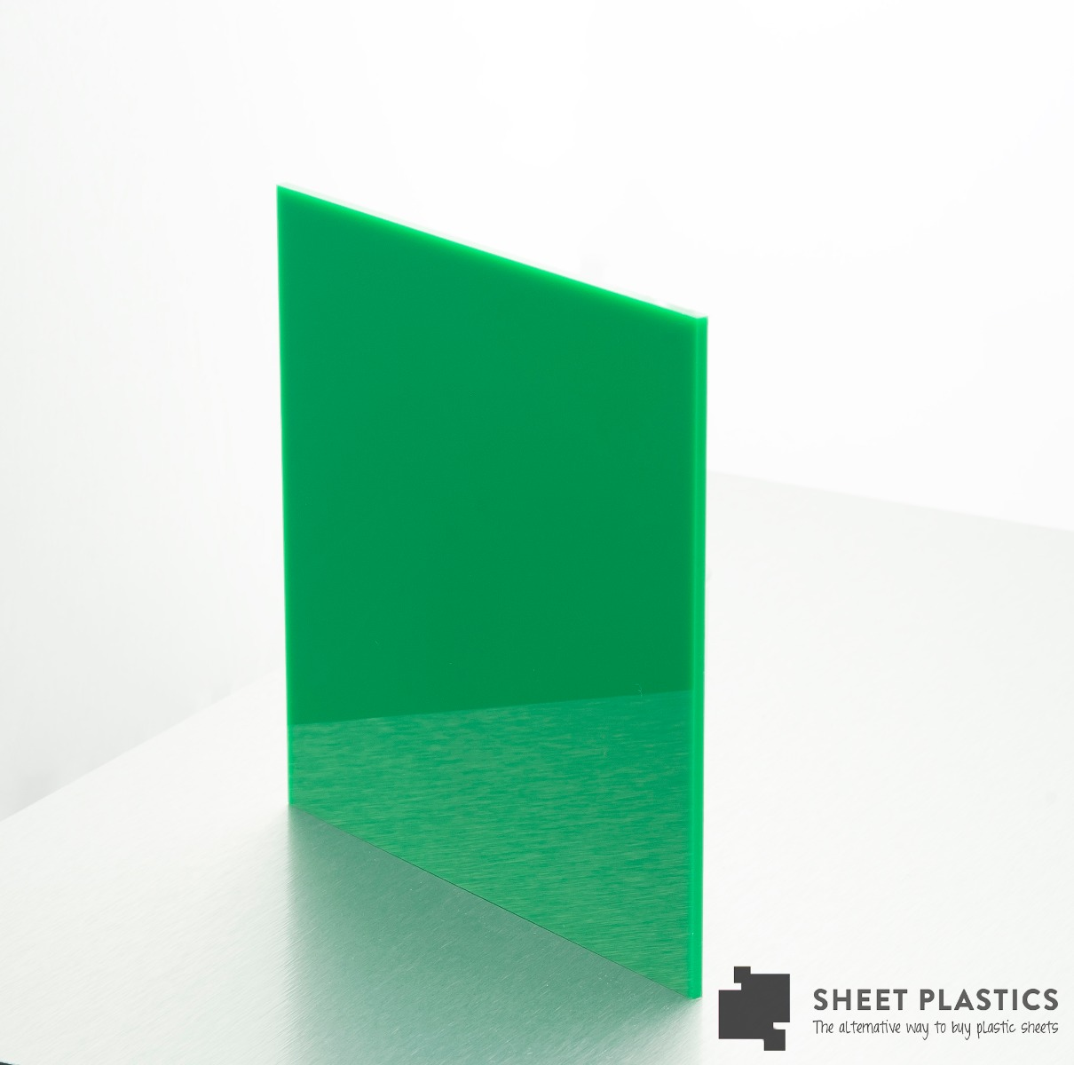 green acrylic sheet 692
