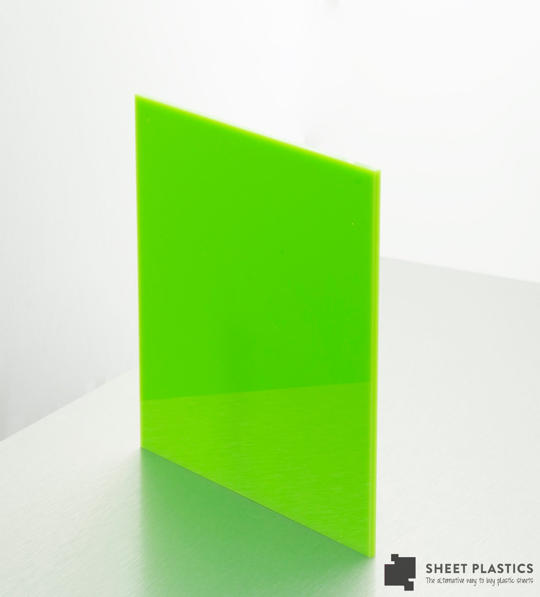limegreen acrylic sheet 3217