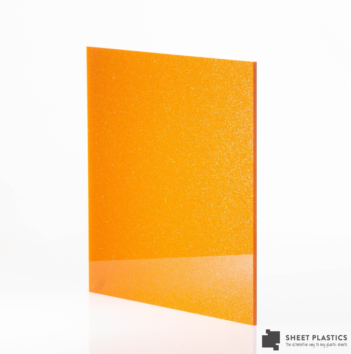 Gold/Orange Blue Acrylic Sheet Cut To Size