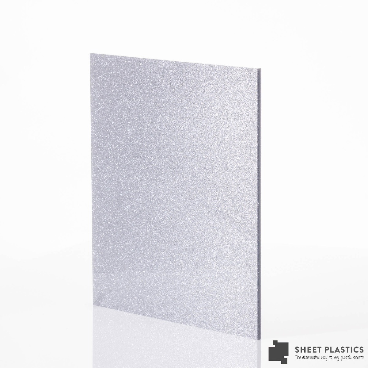 Silver Blue Acrylic Sheet Cut To Size