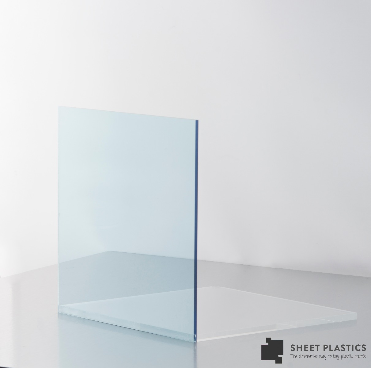 Light Blue Tinted Acrylic Sheet 4132