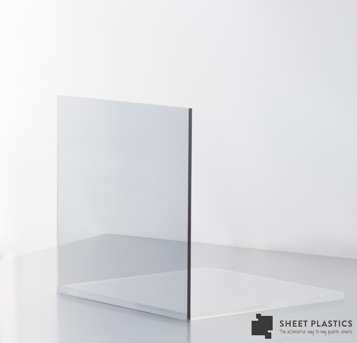 Light Grey Tinted Acrylic Sheet 901