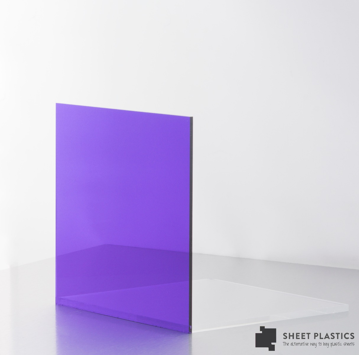 Purple Tint Acrylic Sheet V15111