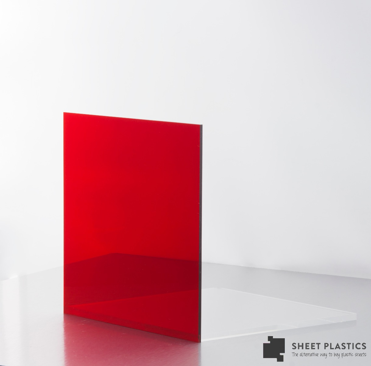 Red Tinted Acrylic Sheet 4401
