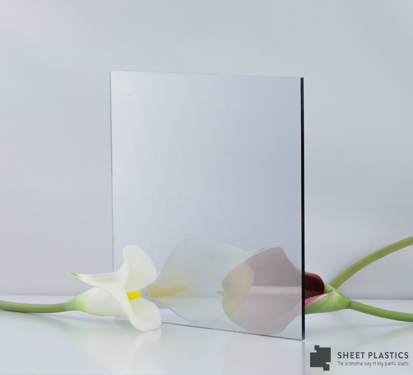 Two Way Silver Mirror Acrylic Sheet 1220 x 1220