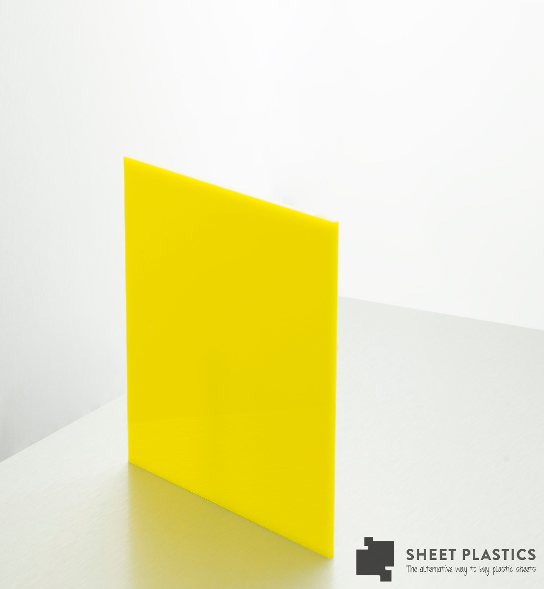yellow acrylic sheet 260